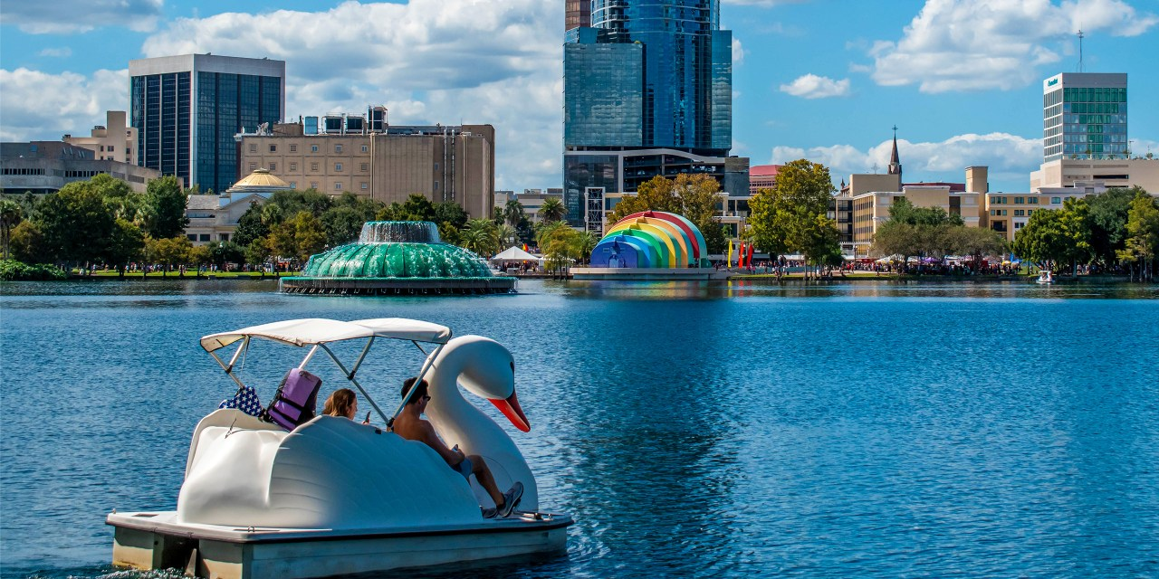 Lake Eola Park ; Courtesy of Jerome LABOUYRIE /Shutterstock