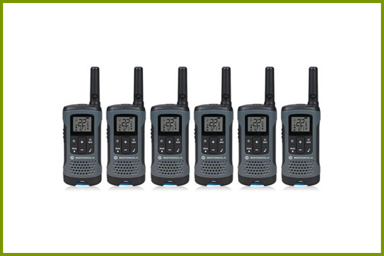 Best Cruise Walkie Talkies For: Large Families; Courtesy of Walmart