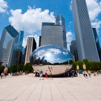 Capture Your Reflection in Cloud Gate ; Courtesy of Choose Chicago