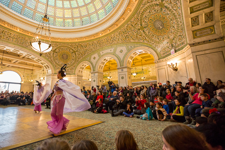 Catch a Free Concert at the Chicago Cultural Center;Courtesy of Choose Chicago