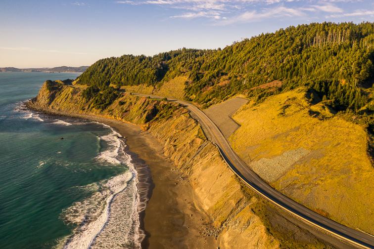 Drive the Pacific Northwest Coast; Courtesy of Manuela Durson/Shutterstock