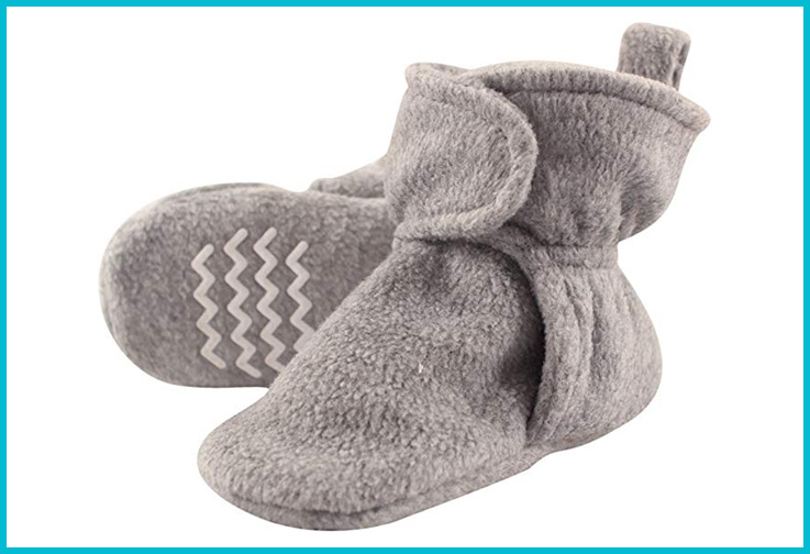 Hudson Baby Booties; Courtesy of Amazon