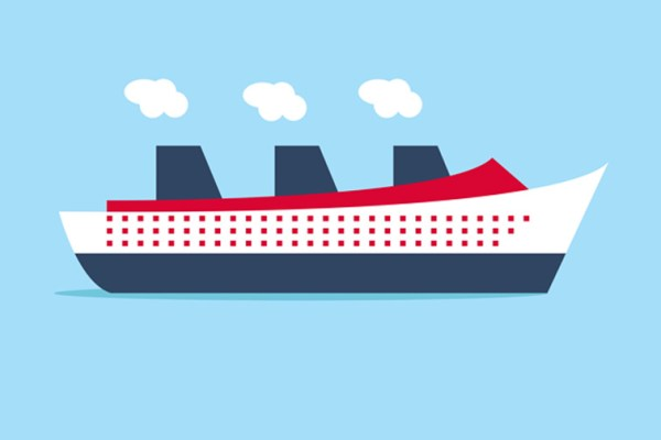 Cruise ship graphic; ; Courtesy of Shutterstock