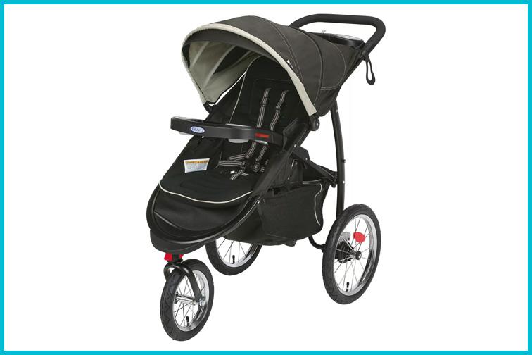 Graco FastAction Fold Jogging Stroller; Courtesy Target