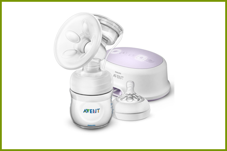 Philips Avent Single Electric Breast Pump; Courtesy Amazon