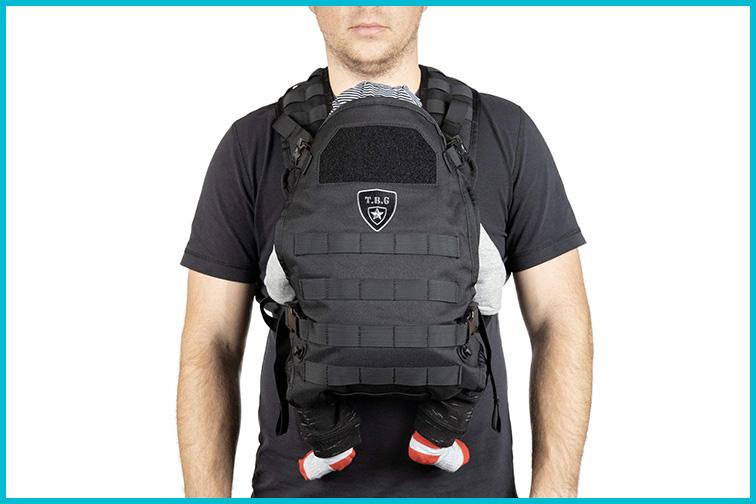 TBG Tactical Baby Carrier; Courtesy Amazon