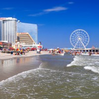 Beach and Steel Pier in Atlantic City; Courtesy Vlad G/Shutterstock