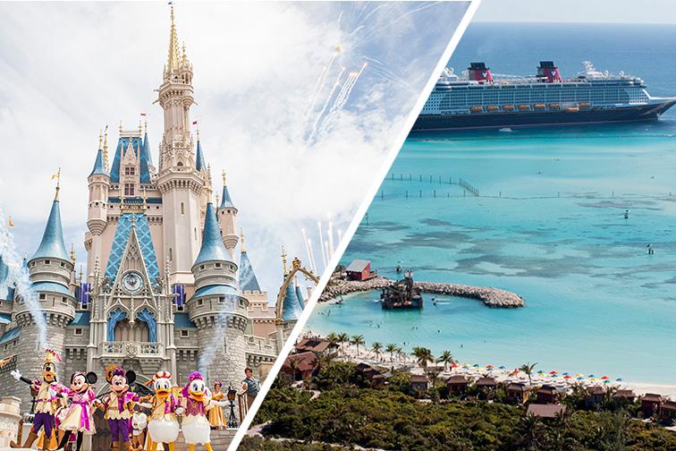 Disney's Magic Kingdom and Disney Cruise in the Bahamas