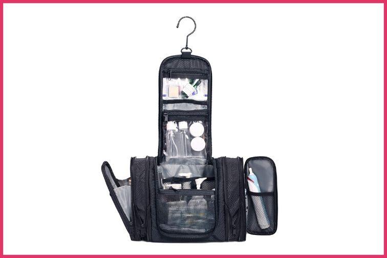 WANDF Expandable Toiletry Bag and Dopp Kit