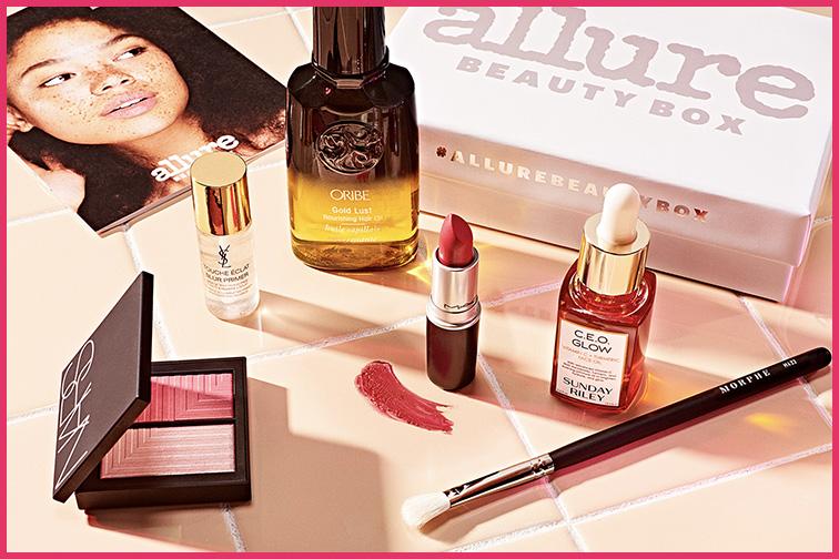 Allure Beauty Box; Courtesy Allure