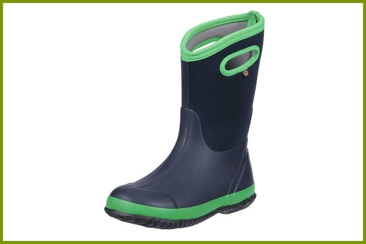 Bogs Kids Classic High Waterproof Insulated Rubber Rain Boot