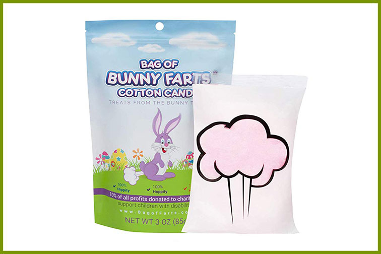 Bunny Farts Cotton Candy; Courtesy of Amazon