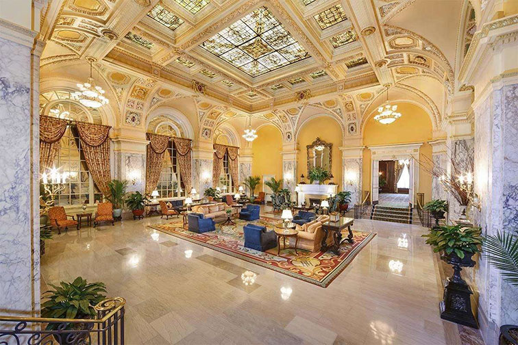 The Hermitage Hotel in Nashville, TN