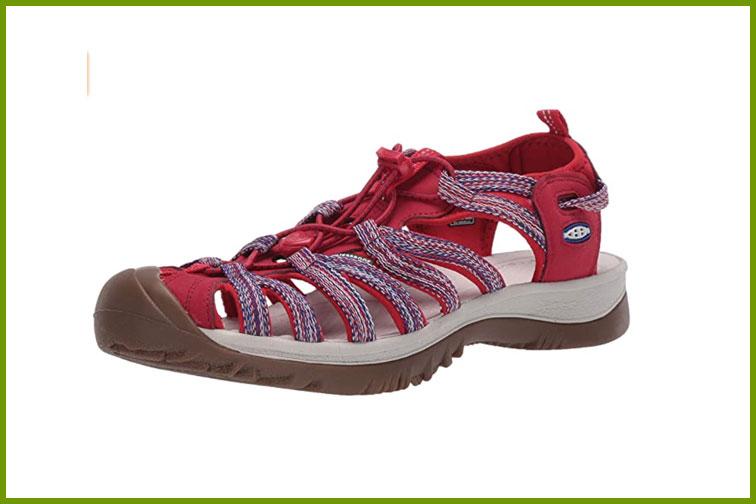 KEEN Women's Whisper Sandal; Courtesy of Amazon