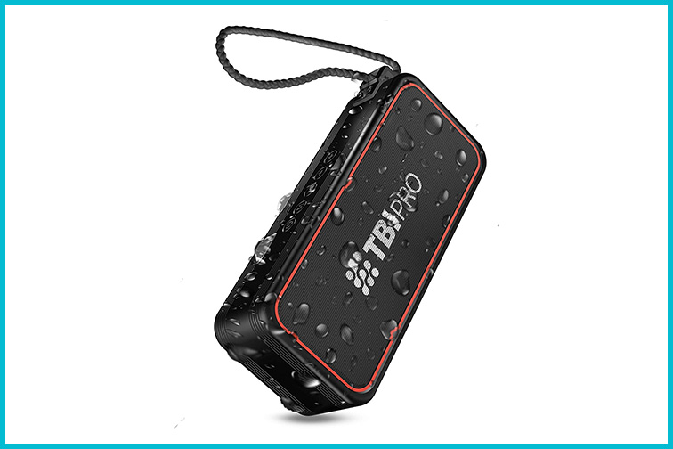 TBIPro BANG X7 Portable Waterproof Bluetooth Speaker; Courtesy Amazon