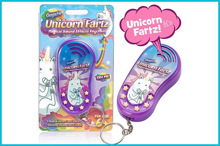 Unicorn Fartz Magical Fart Noise Maker; Courtesy Amazon