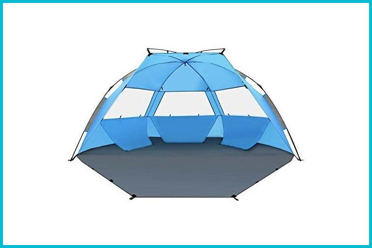 beach tent; Courtesy Amazon