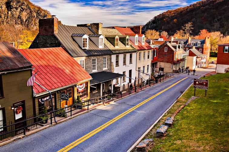 8. Harpers Ferry, West Virginia; Courtesy Jon Bilous/Shutterstock