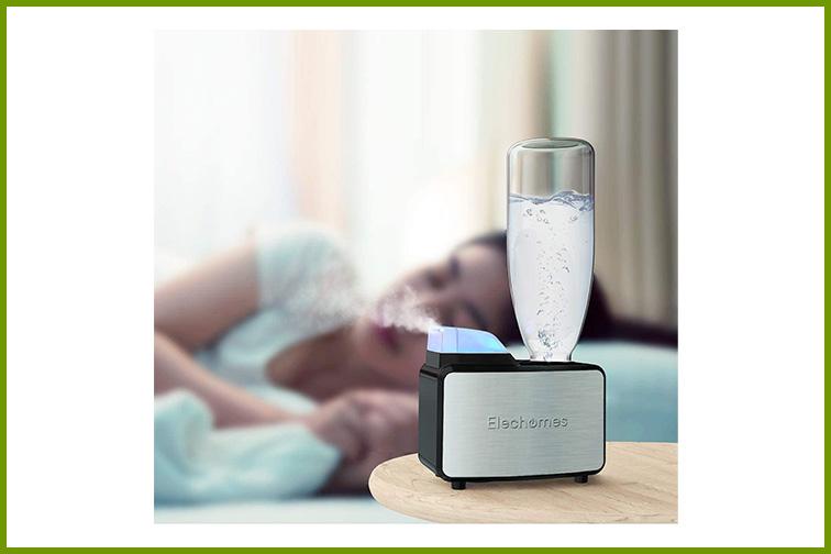Elechomes Ultrasonic Mini Cool Mist Humidifier ; Courtesy Amazon