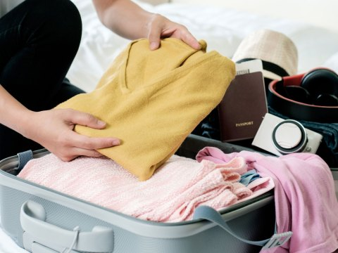 Packing a suitcase; Courtesy of Twenty20