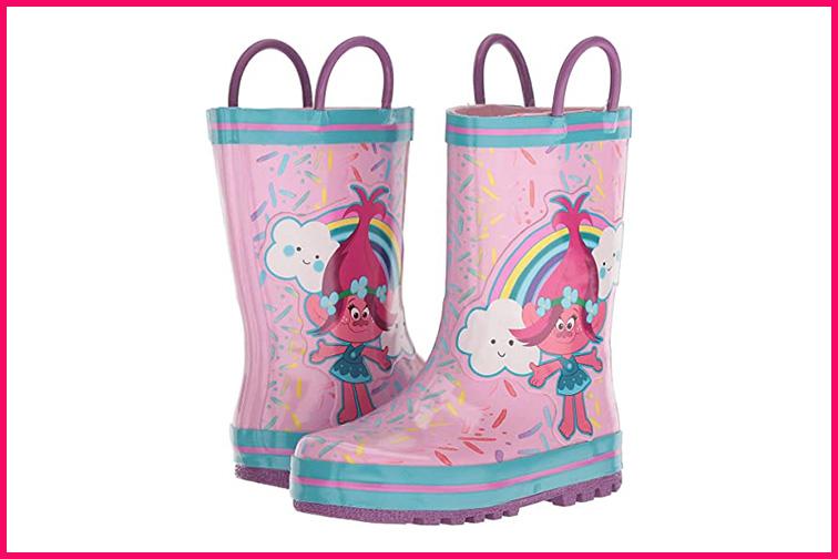 Trolls Rain Boot; Courtesy Zappos