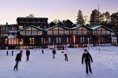 A shot of Cragun's Brainerd Resort in Minnesota.