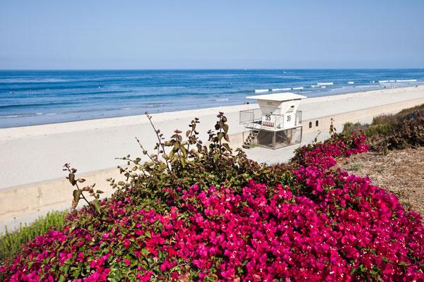 Carlsbad State Beach in Carlsbad, California.