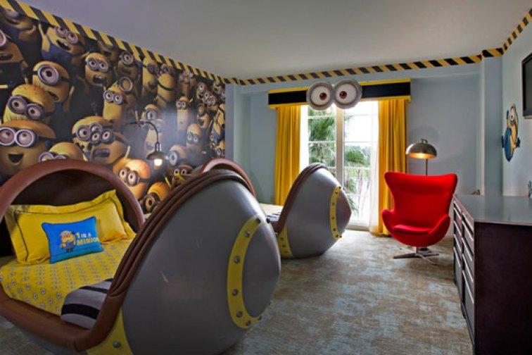 Despicable Me Kids Suites at Loews Portofino Bay Hotel; Courtesy of Loews Portofino Bay Hotel