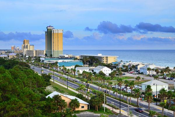 Panama City Beach, Florida.