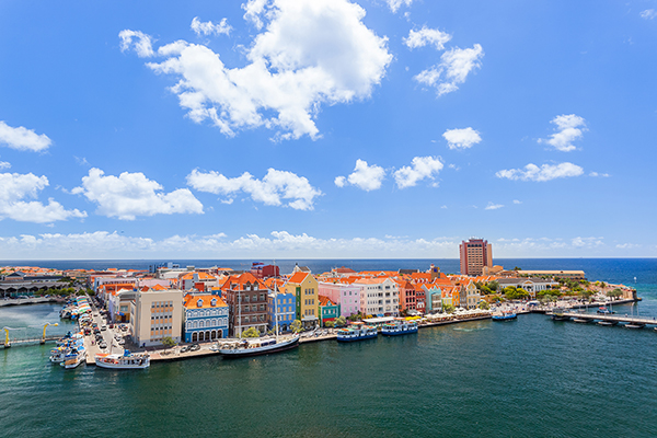 Downtown Willemstad, Curacao.