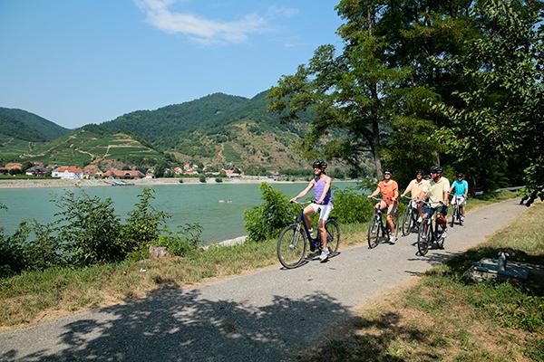 Biking along the Danube with AmaViola