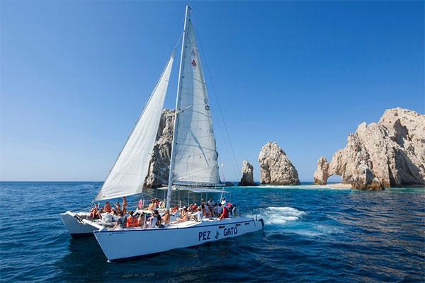Pez Gato Cabo Sailing Catamarans.