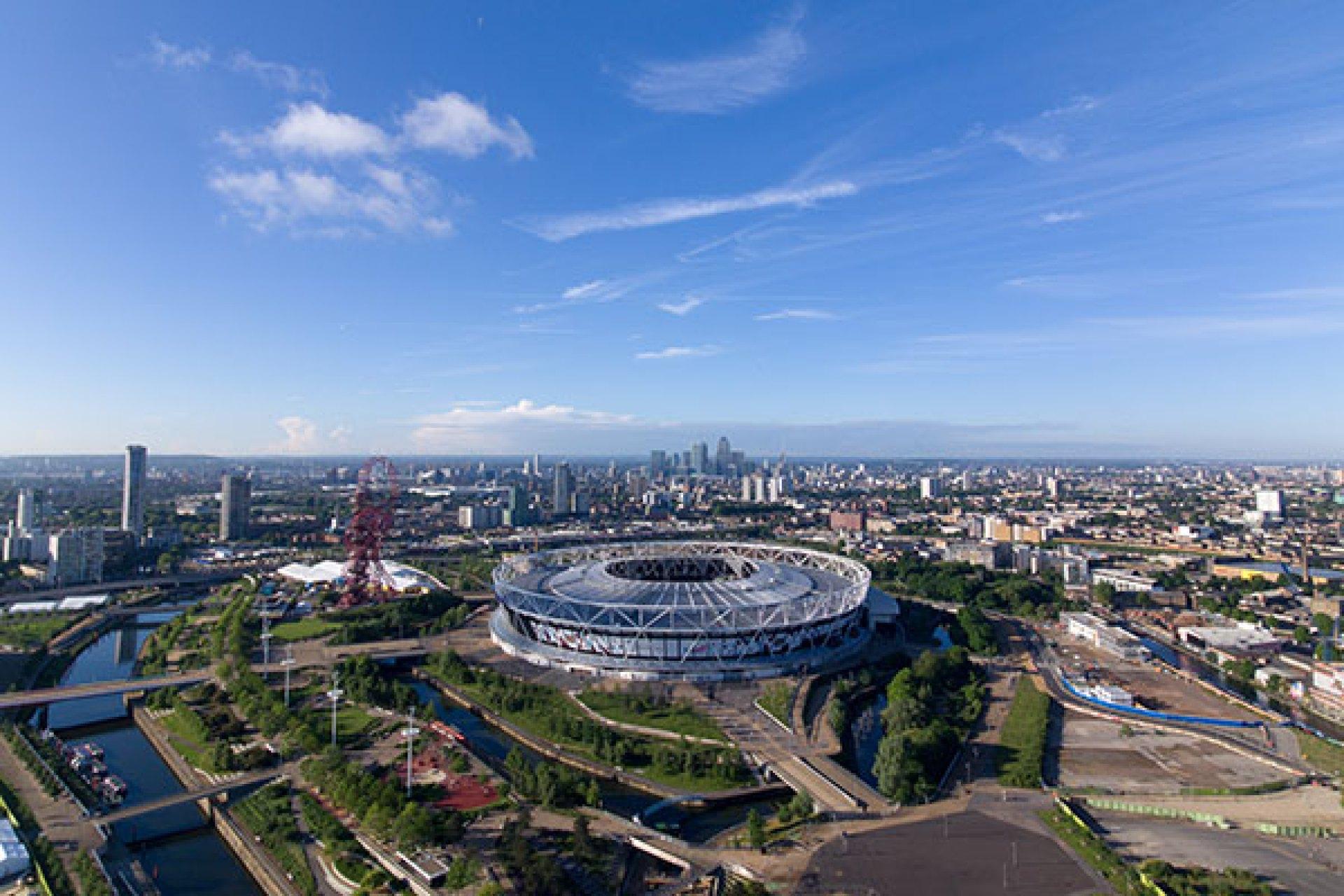 West Ham United in London.