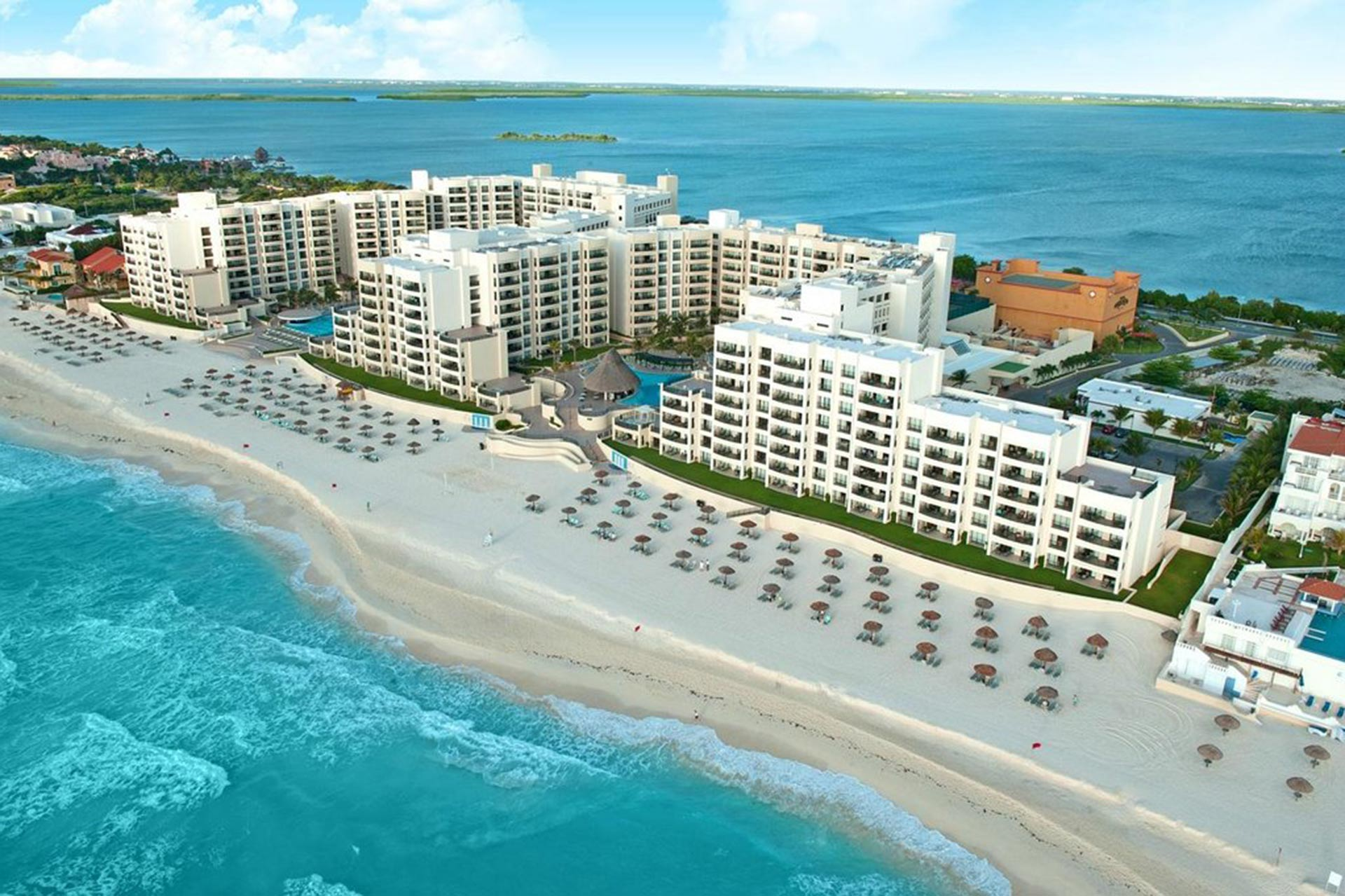 The Royal Sands in Cancun.