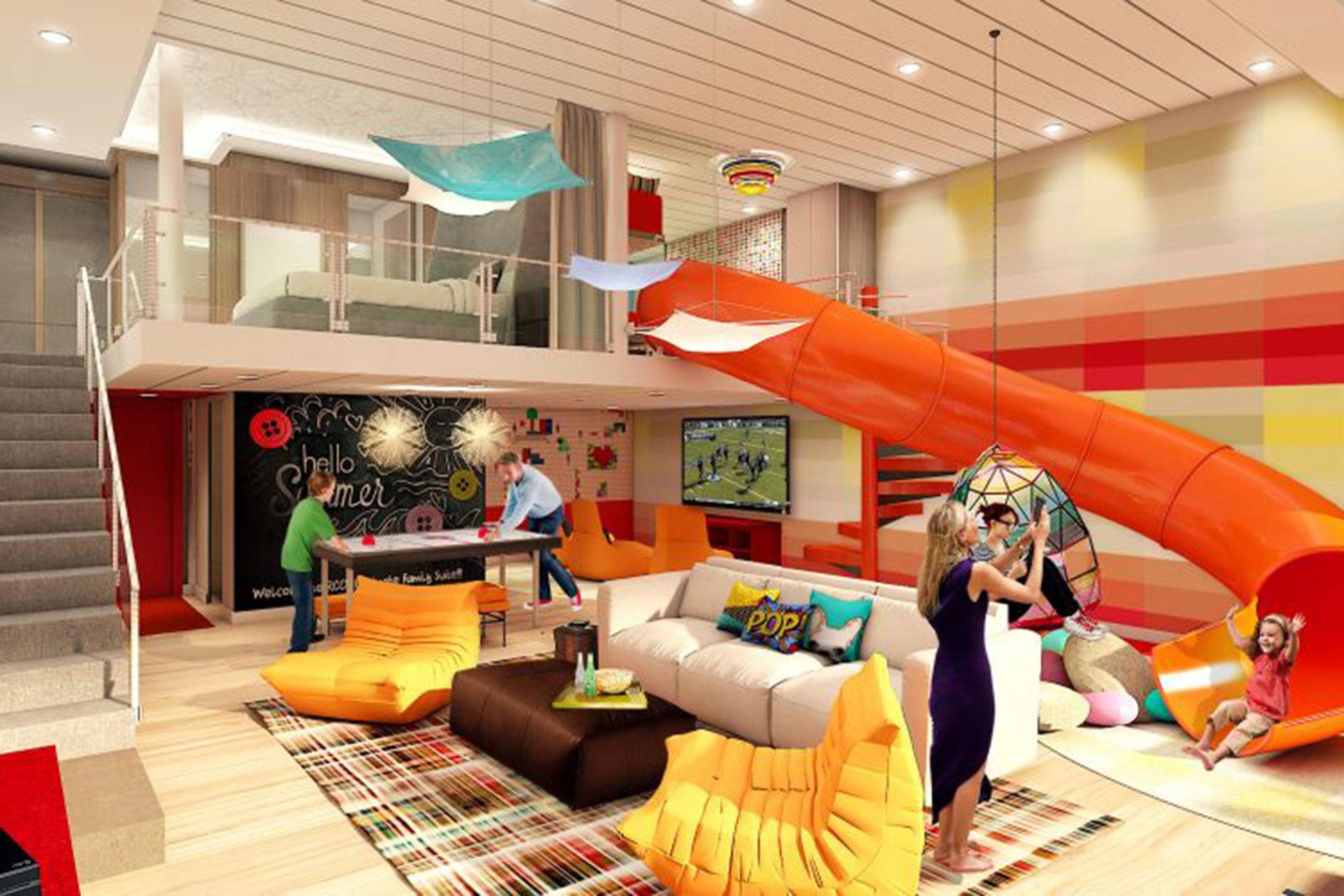 Ultimate Family Suite on Royal Caribbean's Symphony of the Seas.