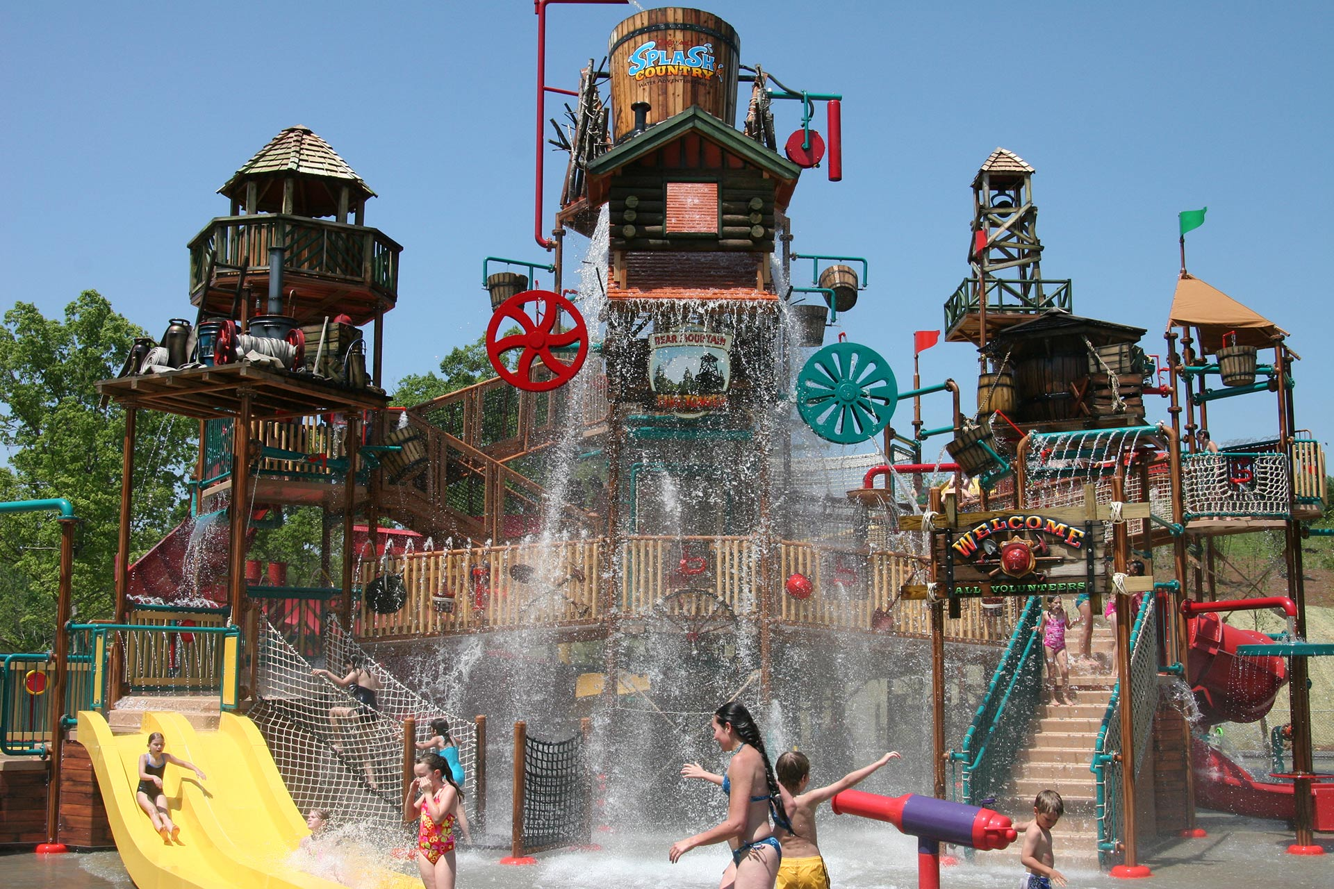Splash Country at Dollywood