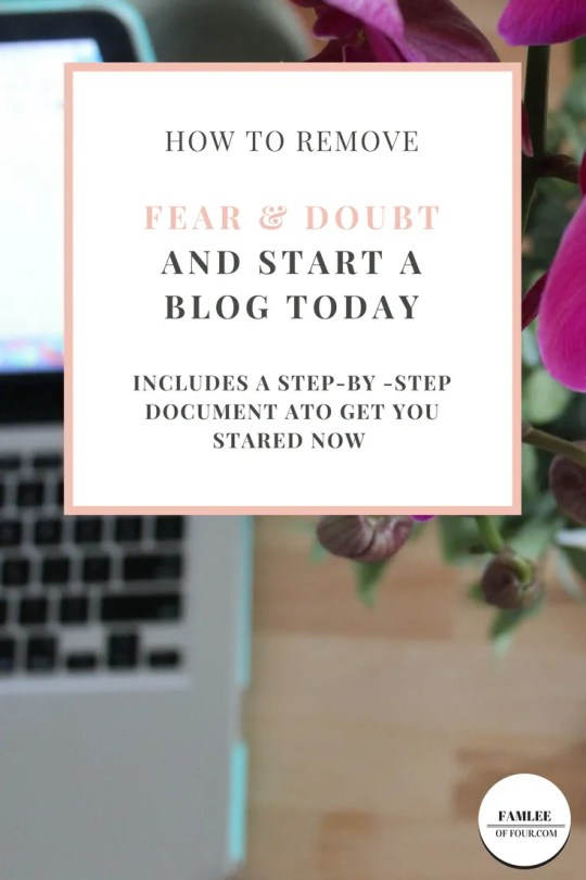 I remember when I first starting thinking about starting a blog there was some fear that creep inside of me. There where so many questions and concerns that I didn't know where to start. Let me help you get started and remove the fear in the process.