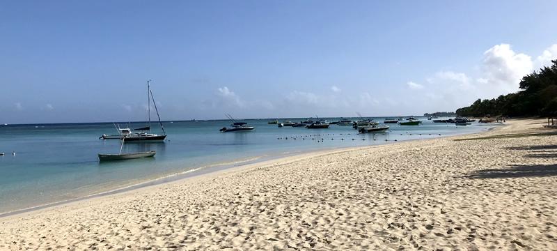 Mauritius spiaggia Trou aux Biches