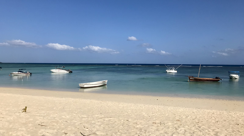 Mauritius spiaggia Mont Choisy