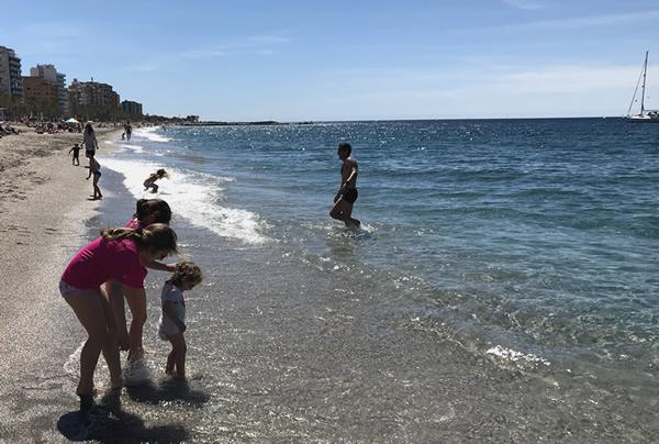 Almeria con i bambini