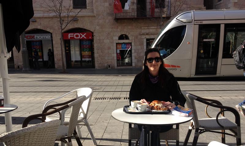 Gerusalemme colazione città nuova