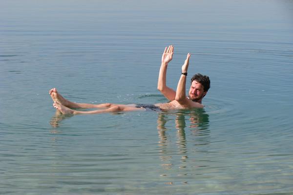 Un bagno nel Mar Morto