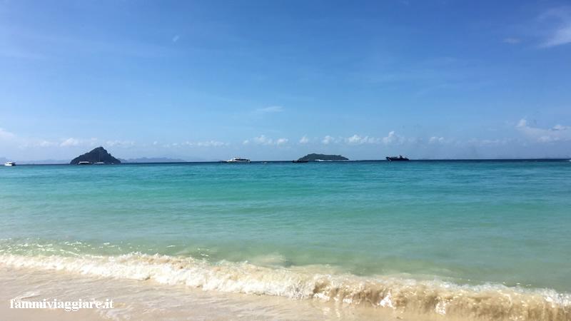 Spiaggia holiday Inn Phi Phi Island