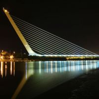 Alamillo Bridge, Seville, Spain