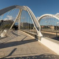 Bac de Roda Bridge, Barcelona, Spain