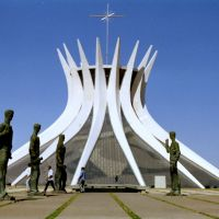 Cathedral of Brasília, Brazil