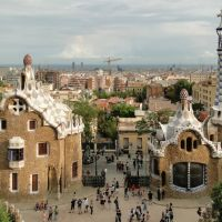 Houses in Park Guell, Barcelona