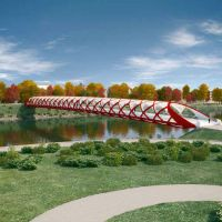 Peace Bridge, Calgary, Canada
