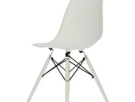 Eames DSW Stuhl   Weiß
