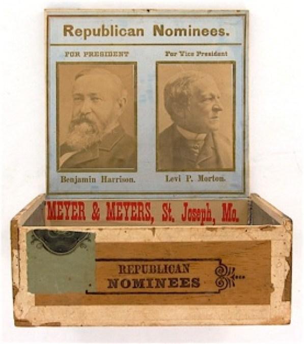 presidents who smoked cigars benjamin Harrison